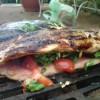 Recipe Time: BBQ Grilled Summer Stuffed Trout with Pomegranate