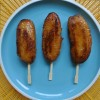 Banana Que Pops (Filipino saba bananas with a crisp caramalised coating)