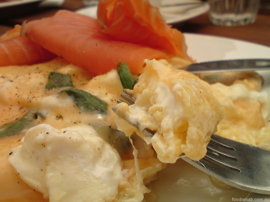 Porgie Mr Jonnes Coffee eggs scramble with salmon 2
