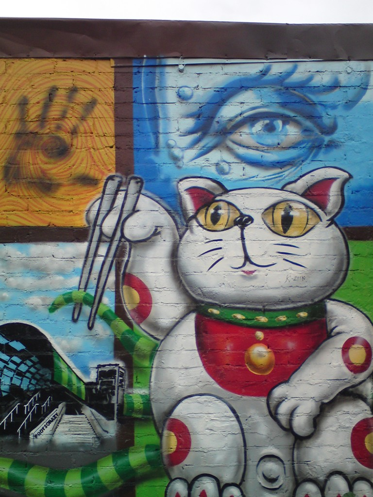 graffitti footscray