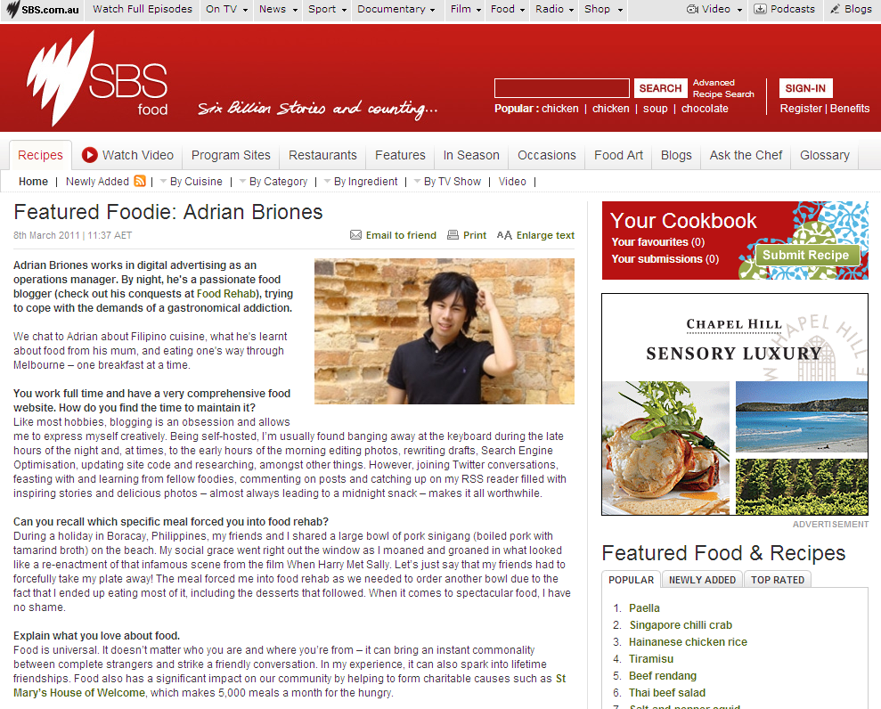 sbs featured foodie adrian briones