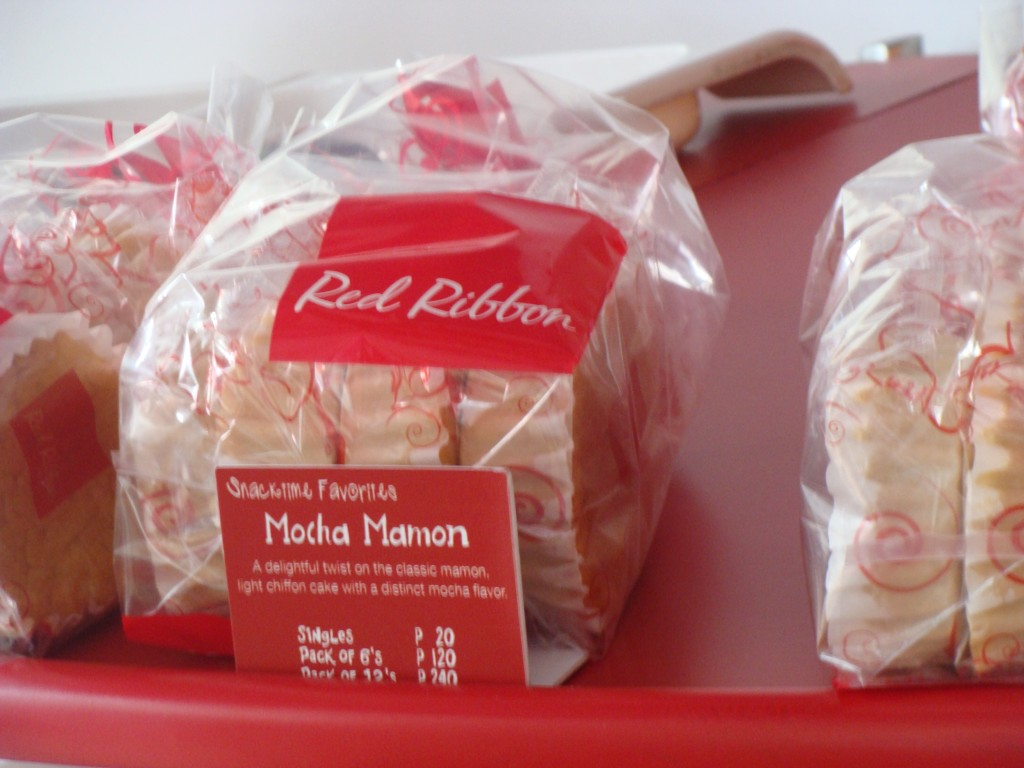 Red Ribbon Mamon Bread