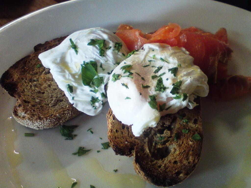 Odd Spot cafe Salmon on toast