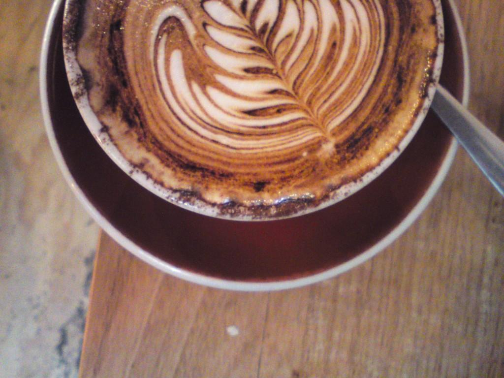 Social Roasting Co cappuccino