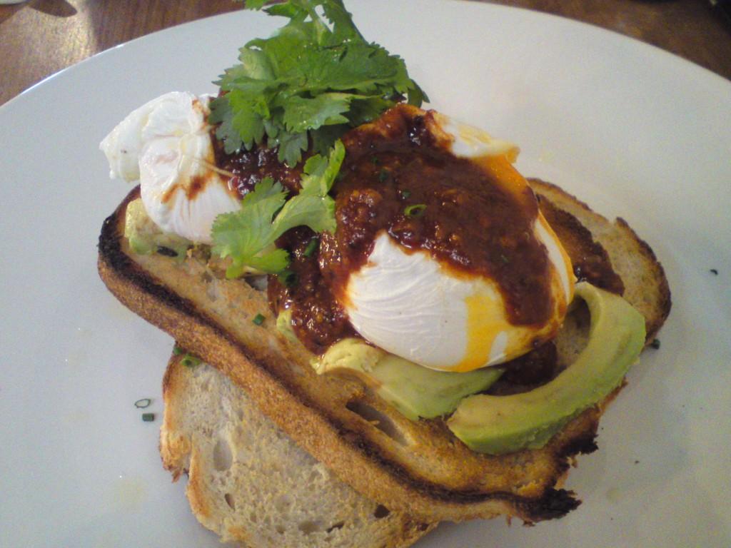 Social Roasting Co eggs with kasundi