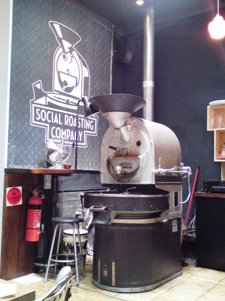 Social Roasting Co machine