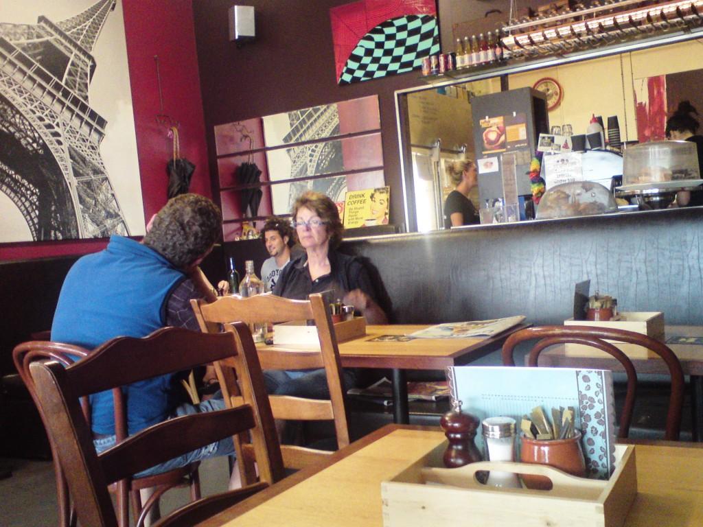 inside odd spot cafe