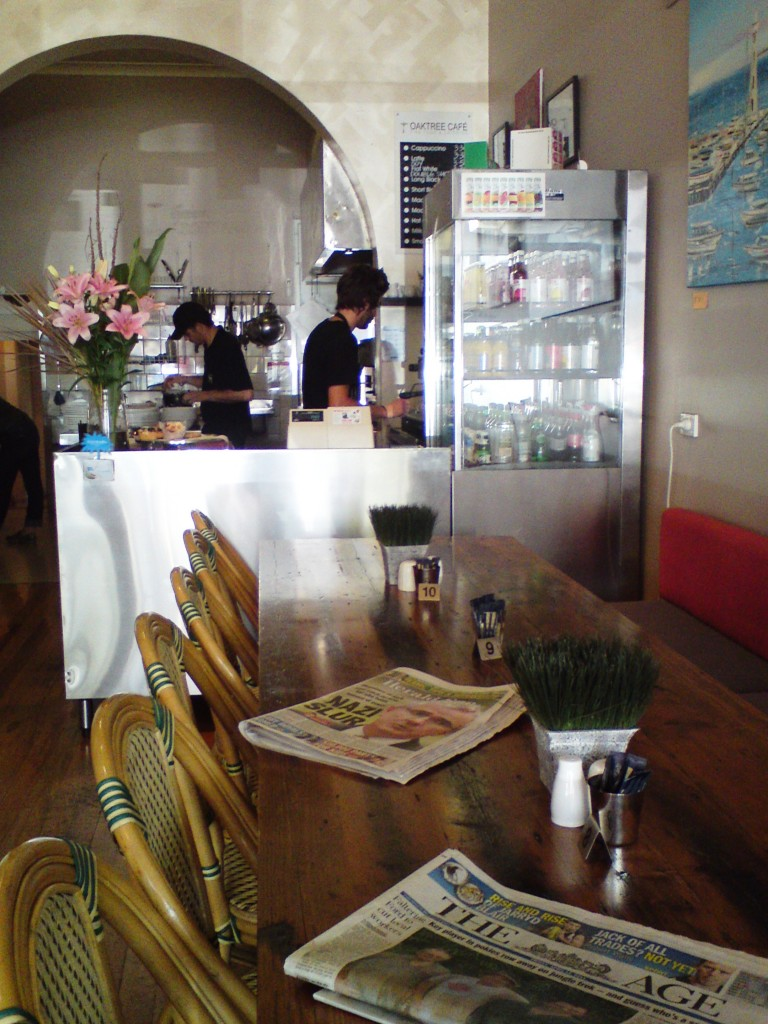 oaktree cafe inside