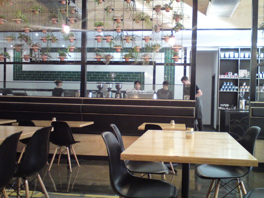 inside Axil Coffee