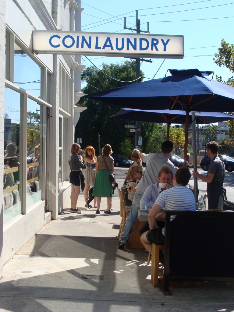 Coin Laundry Exterior