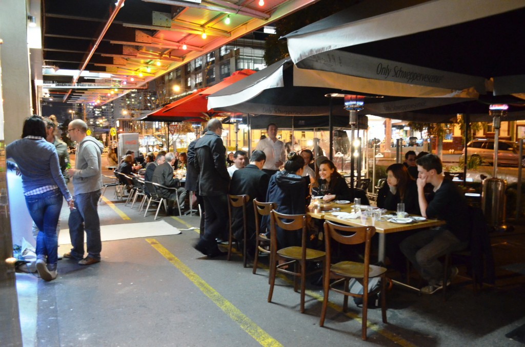 Restaurants at Cecil Street South Melbourne Market