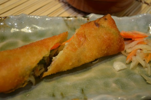 Lumpia at Dahon Tea Lounge