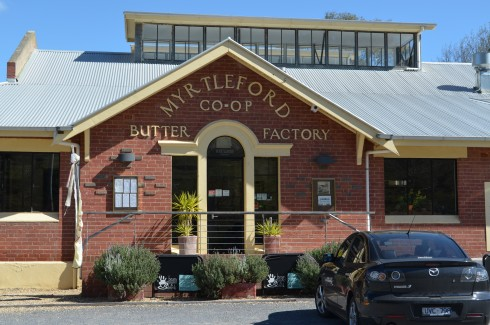 The Butter Factory Building Myrtleford