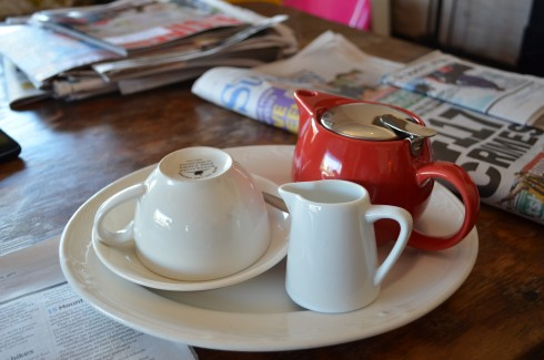 English Breakfast Tea at Blackbird Cafe & Food Store