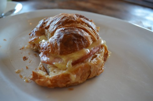ham and cheese croissant Blackbird Cafe & Food Store