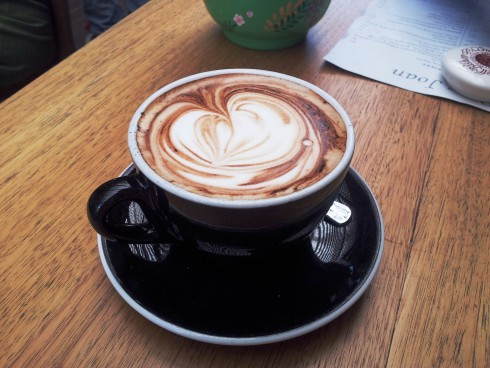 coffee at pope joan