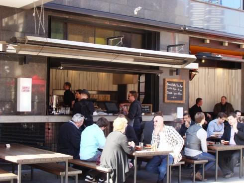 Caboose Canteen dining