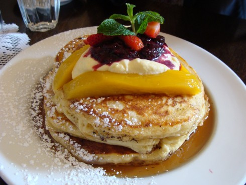 Buttermilk Pancakes at Madame Mango