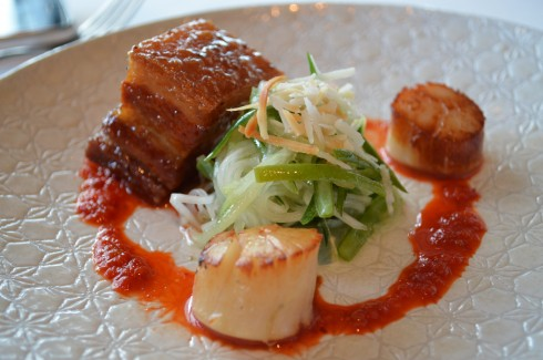 Sticky Pork Belly at Taxi Dining Room