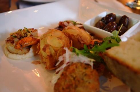 Taste of Wellington shared tasting plate