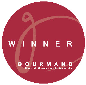 gourmand awards badge round