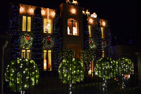 MY favourite house at ivanhoe christmas lights