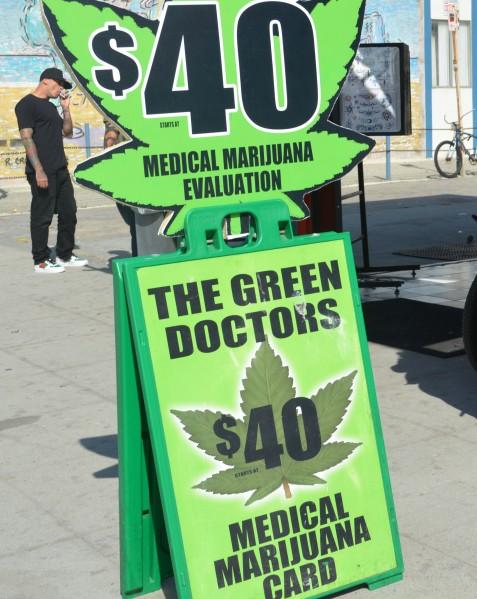 weed in LA