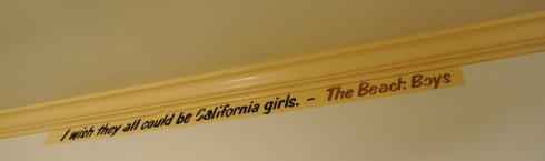 beachboys quote at hotel california