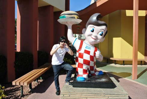 Me and Bob's Big Boy Burgers