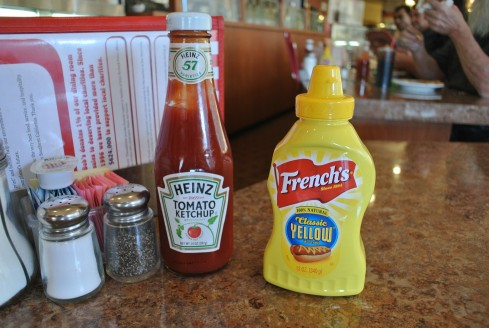 Sauces at bob's big boy