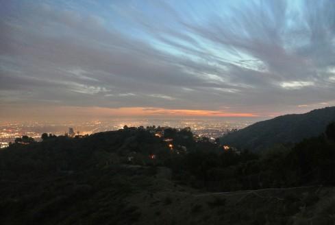 Mulholland Drive Los Angeles
