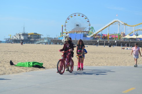 A walk to Venice beach