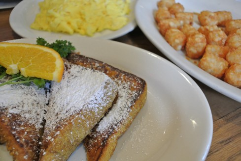 French Toast at Jinky's Cafe