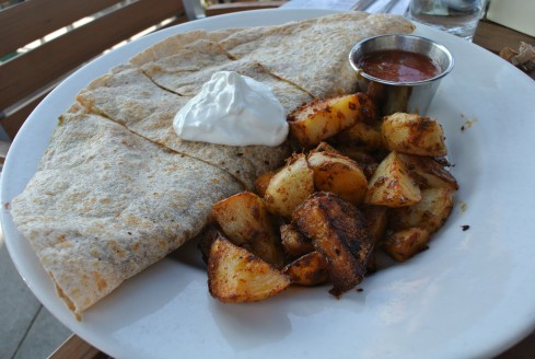 breakfast quesadilla at FIGTREE'S CAFÉ & GRILL