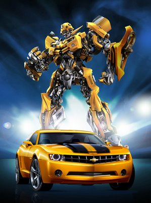 Bumblebee from the Transformers movie
