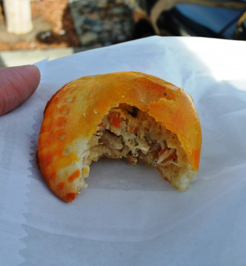 Empanadas at V Tropical Bake Shop