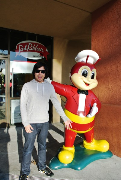 Jollibee and I at San Jose