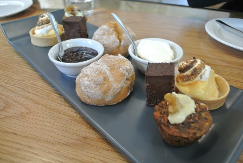 afternoon tea at reading room cafe