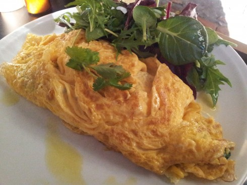 Southern omelette at Pillar of Salt