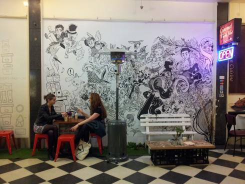 De Alleyway Espresso Interior