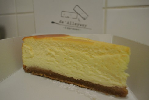 cheesecake De Alleyway Espresso