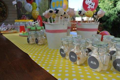 kids lollies cake pops