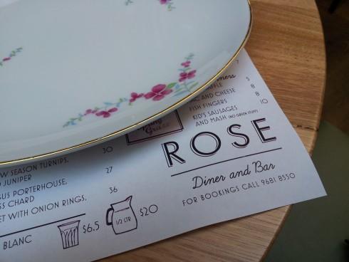 rose diner