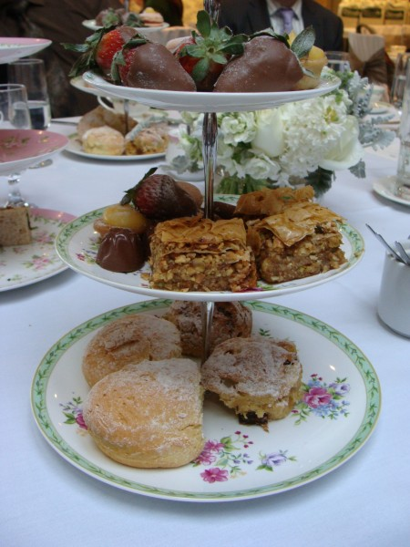 High Tea at The Terrace Royal Botanical gardens