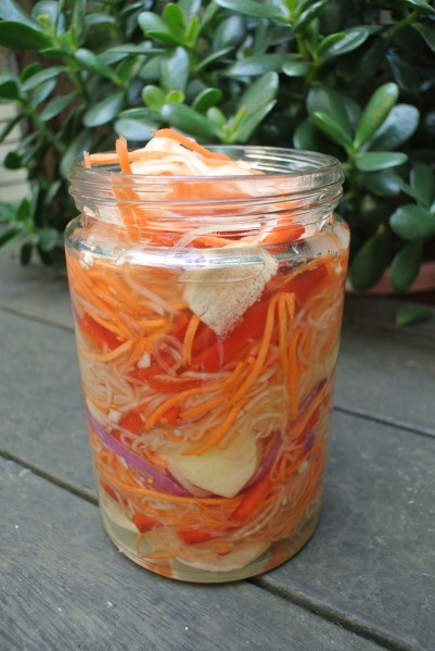 jar of atchara