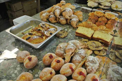 Baked goodies at Candied bakery
