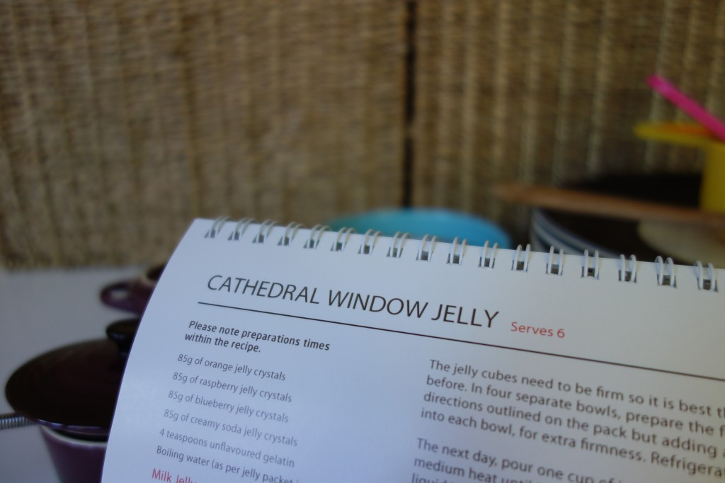 cathedral window jelly cookbook