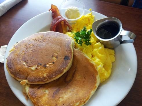 pancakes at jack n jills cafe