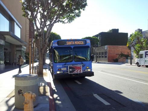 santa monica bus