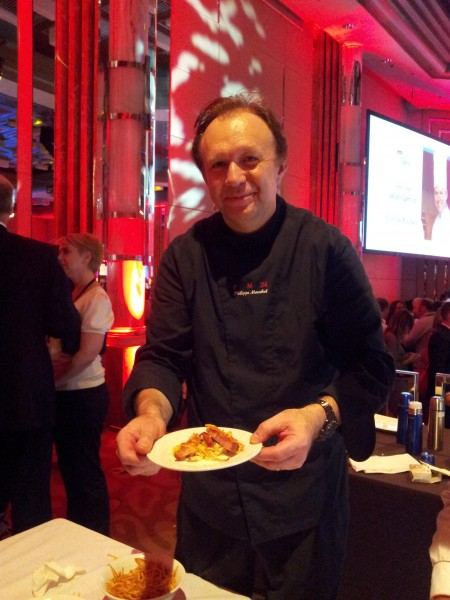 Philippe Mouchel  PM24 plating up Confit pork belly